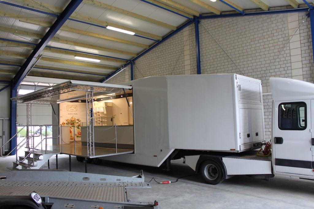 Show-Truck für Roadshow mieten