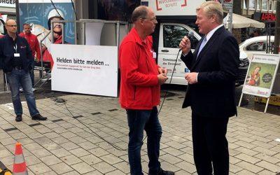 Interview mit Althusmann bei Roadshow Helden bitte melden